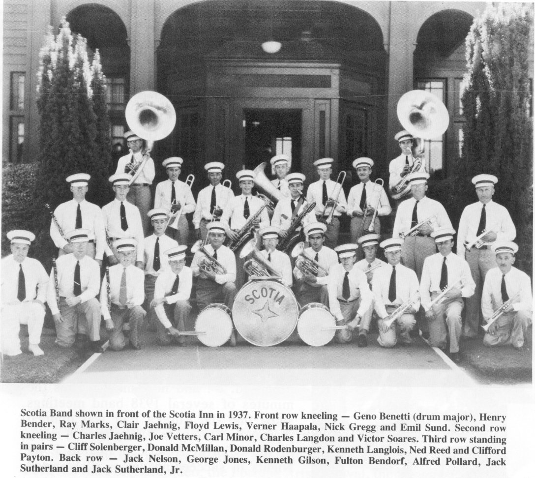 Scotia Band Group Photo